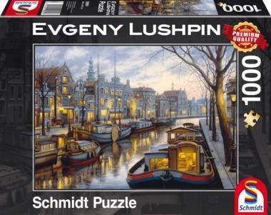 Aan het kanaal (Evgeny Lushpin) - Puzzel (1000)