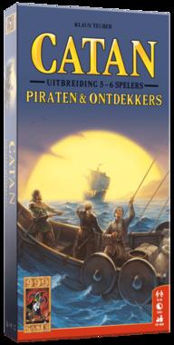 De Kolonisten van Catan: Piraten & Ontdekkers (Uitbreidingsset 5/6 spelers)