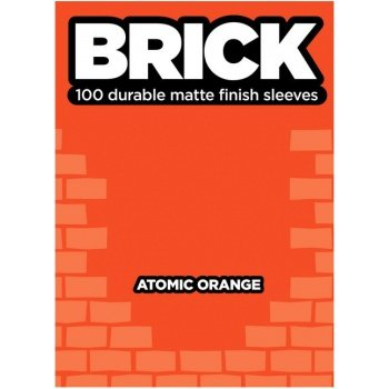Legion Brick Sleeves (67x92mm) - Atomic Orange (100 stuks)