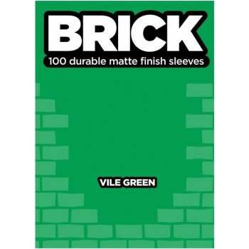 Legion Brick Sleeves (67x92mm) - Vile Green (100 stuks)