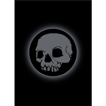 Legion Standard Sleeves (67x92mm) - Absolute Iconic Skull (50 stuks)