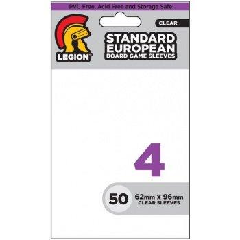 Legion Standard European Sleeves (62x96mm) - Clear (50 stuks)