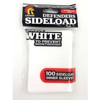 Legion Standard Sideload Inner Sleeves (64x89mm) - Opaque White (100 stuks)
