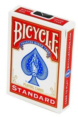 Speelkaarten Standard Rood (Bicycle)
