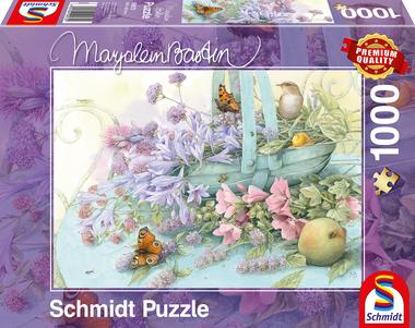 Bloemenmand (Marjolein Bastin) - Puzzel (1000)