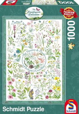 Bloemen en Planten - Puzzel (1000)