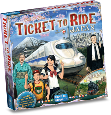 [PREORDER] Ticket To Ride - Map Collection: Japan & Italy