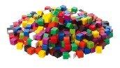 Plastic Cubes (10mm) - 10 stuks