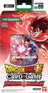 Dragon Ball SCG: Saiyan Legacy - Starter Deck