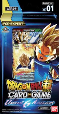 Dragon Ball SCG: Universe 6 Assailants - Expert Deck