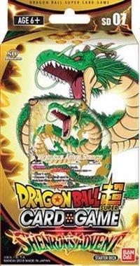 Dragon Ball SCG: Shenron's Advent - Starter Deck
