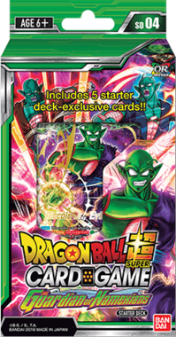 Dragon Ball SCG: The Guardians of Namekians - Starter Deck