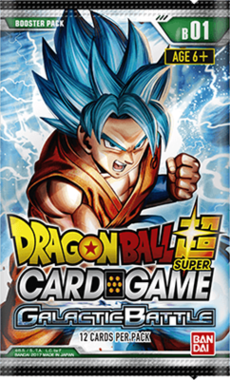 Dragon Ball SCG: Galactic Battle - Booster Pack