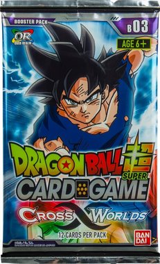 Dragon Ball SCG: Cross Worlds - Booster Pack