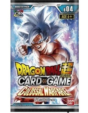 Dragon Ball SCG: Colossal Warfare - Booster Pack
