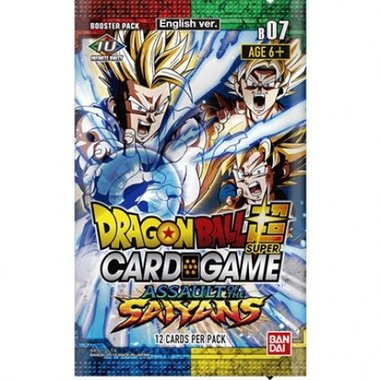 Dragon Ball SCG: Assault of the Saiyans - Booster Pack