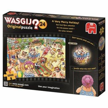 Wasgij Original Puzzel (#24): Een Heel Fijne Vakantie! (1000)
