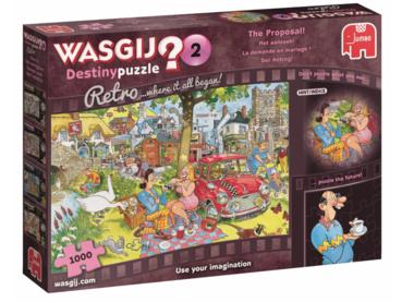 Wasgij Destiny Puzzel Retro (#2): Het Aanzoek (1000)
