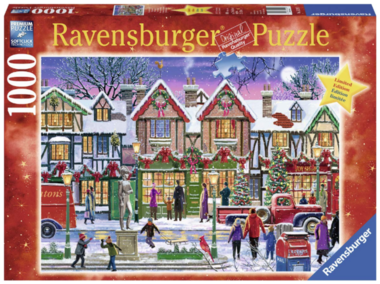 Kerstmis op het plein - Puzzel (1000) [LIMITED EDITION]