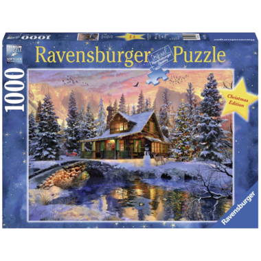Witte Kerst - Puzzel (1000) [LIMITED EDITION]