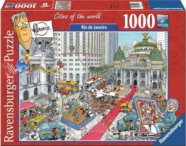 Fleroux: Rio de Janeiro, Cities of the World - Puzzel (1000)