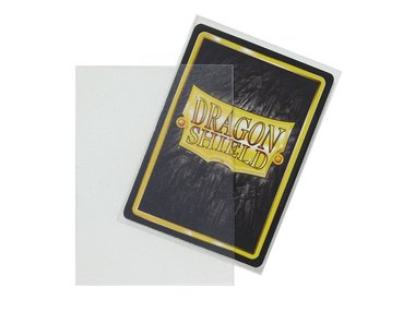 Dragon Shield Card Sleeves (Non-Glare): Standard Clear Matte (63x88mm) - 100 stuks