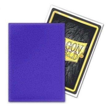 Dragon Shield Card Sleeves (Non-Glare): Standard Purple Matte (63x88mm) - 100 stuks