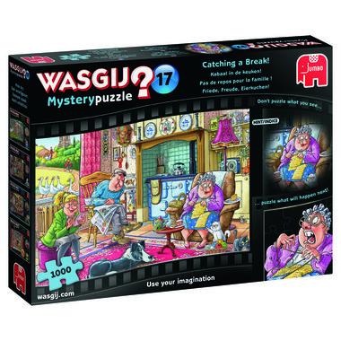 Wasgij Mystery Puzzel (#17): Kabaal in de keuken! (1000)