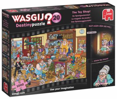 Wasgij Destiny Puzzel (#20): De Speelgoedwinkel! (1000)