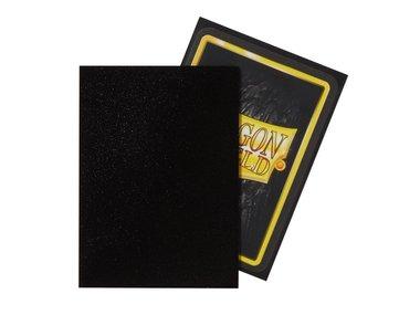 Dragon Shield Card Sleeves (Non-Glare): Standard Black Matte (63x88mm) - 100 stuks