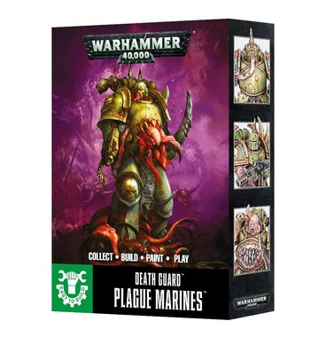 Warhammer 40,000 - Death Guard Plague Marines (Easy to Build)