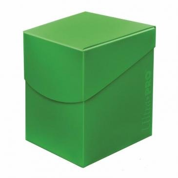 Ultra Pro 100+ Deck Box (Lime Green)