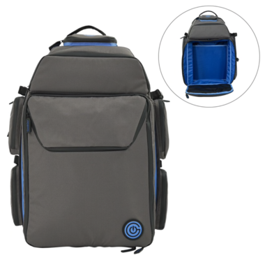 GeekOn! The Ultimate Boardgame Backpack (Grey/Blue)