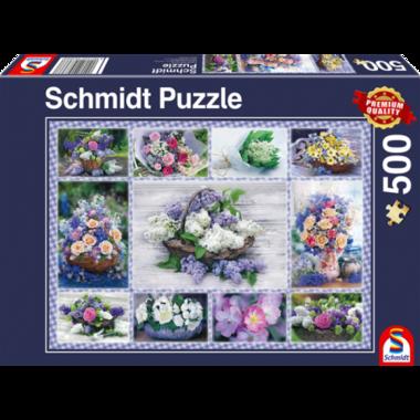 Bloemenboeket - Puzzel (500)