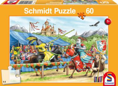 Bij de ridders - Puzzel (60)