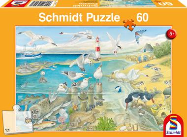 Dieren bij de zee - Puzzel (60)