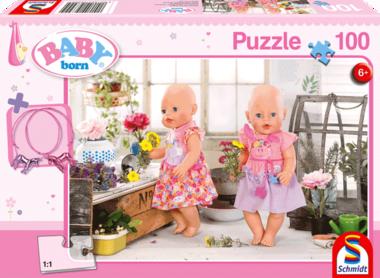 Baby Born: Floristas - Puzzel (100) [+ GRATIS BABY BORN ARMBANDJES]