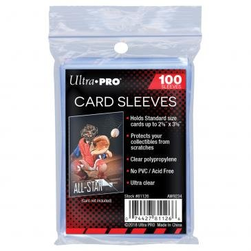 Ultra Pro Board Game Sleeves: Standard (66x92mm) - 100