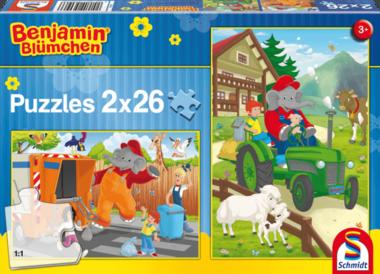 Benjamin in Actie - Puzzel (2x26)
