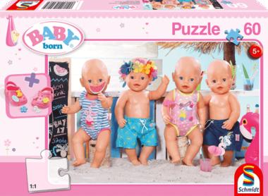 Baby Born: In de Zomer - Puzzel (60) [+ GRATIS BABY BORN SCHOENTJES]