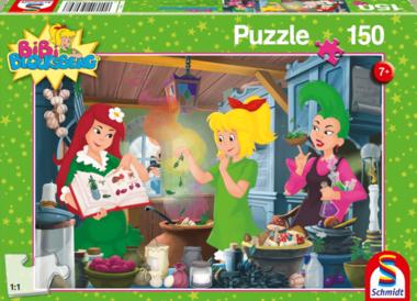 Bibi Blocksberg: In het heksenlaboratorium - Puzzel (150)