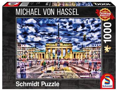 Brandenburger Toren, Berlijn (Michael Von Hassel) - Puzzel (1000)