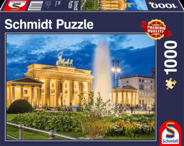 Brandenburger Tor, Berlijn - Puzzel (1000)