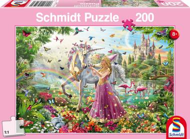Prachtige Fee in het Toverbos - Puzzel (200)