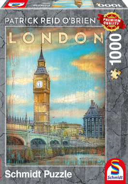 Londen (Patrick Reid O'Brien) - Puzzel (1000)