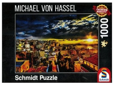 Stad aan de zee (Michael Von Hassel) - Puzzel (1000)