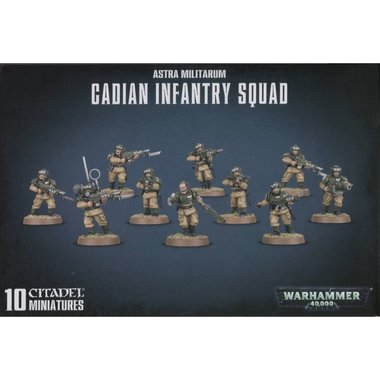 Warhammer 40,000 - Cadian Infantry Squad/Shock Troops