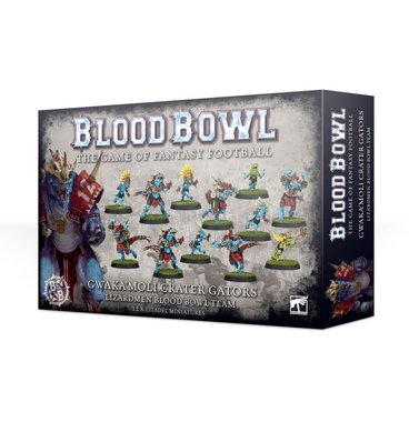 Blood Bowl: Gwaka'moli Crater Gators (Lizardmen Blood Bowl Team)