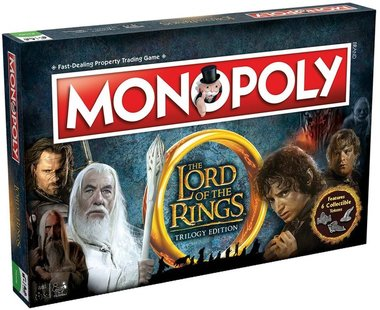 Monopoly: The Lord of the Rings [TRILOGY EDITION]
