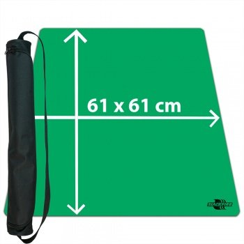 Blackfire Ultrafine Playmat - 90x90cm - with Carrybag (Green)